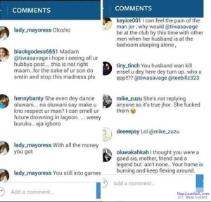 Fans Already Blasting Tiwa Savage On Her Instragram Page
